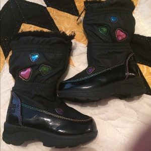 Little girls boots size 5